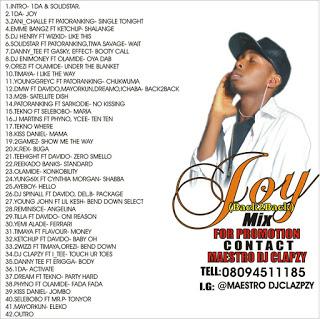IMG 20160729 WA007 - Mix|| DJ CLAPZY - JOY (BACK2BACK) MIXTAPE