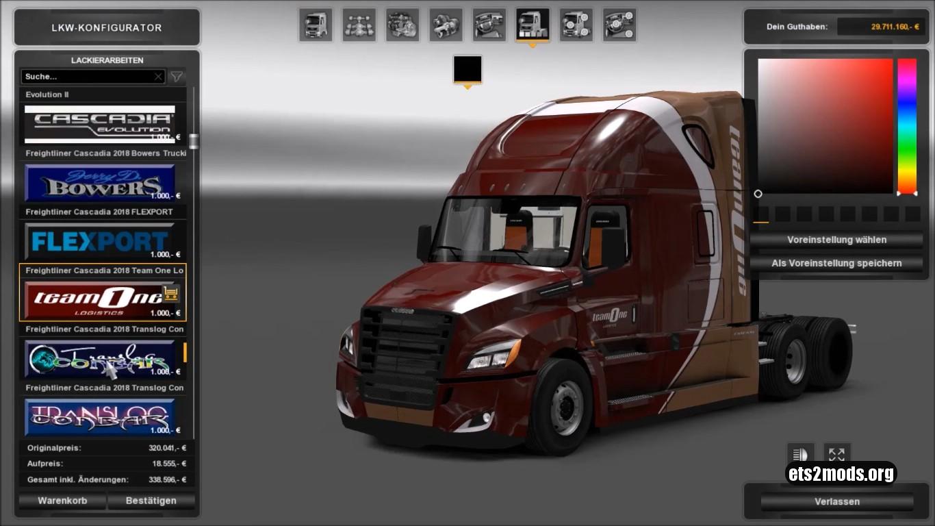 Freightliner Cascadia v3.9.4 [1.26]