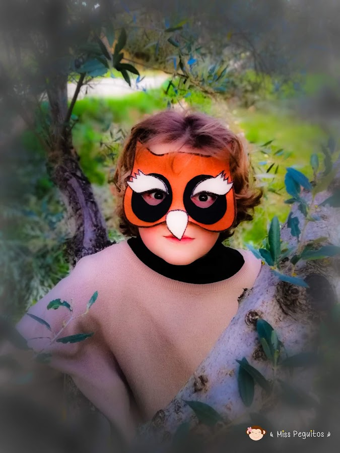 disfraz de buho costume owl