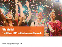 UniFi Mobile: We did it! 1 million SIM milestone achieved