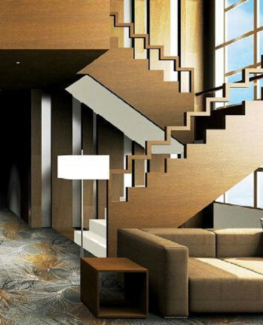 Trends Of Stair Railing Ideas And Materials Interior Outdoor | Modern Wood Staircase Railing | Residential | Interior | Floor To Ceiling | Ultra Modern | Traditional Wood Stair