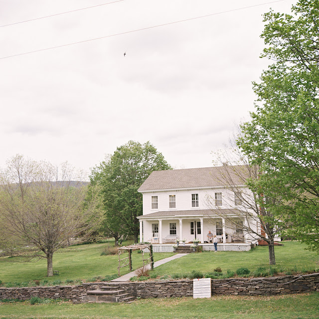 The venue for Jonna and Heather's Inn at West Settlement Wedding by Karen Hill Photography