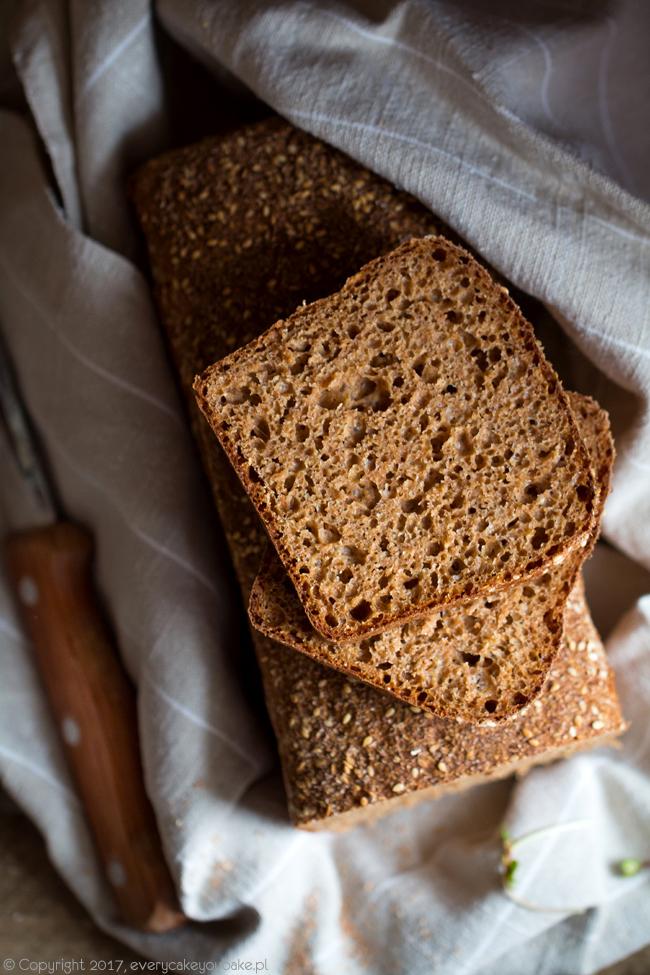 irlandzki chleb brązowy na melasie