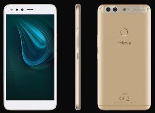 Infinix Zero 5 Specs and Price in Nigeria, Kenya And Ghana