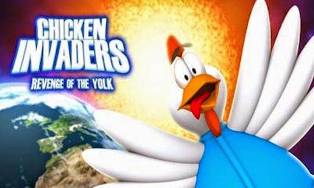 تحميل لعبة الفراخ chicken invaders للكمبيوتر من ميديا فاير