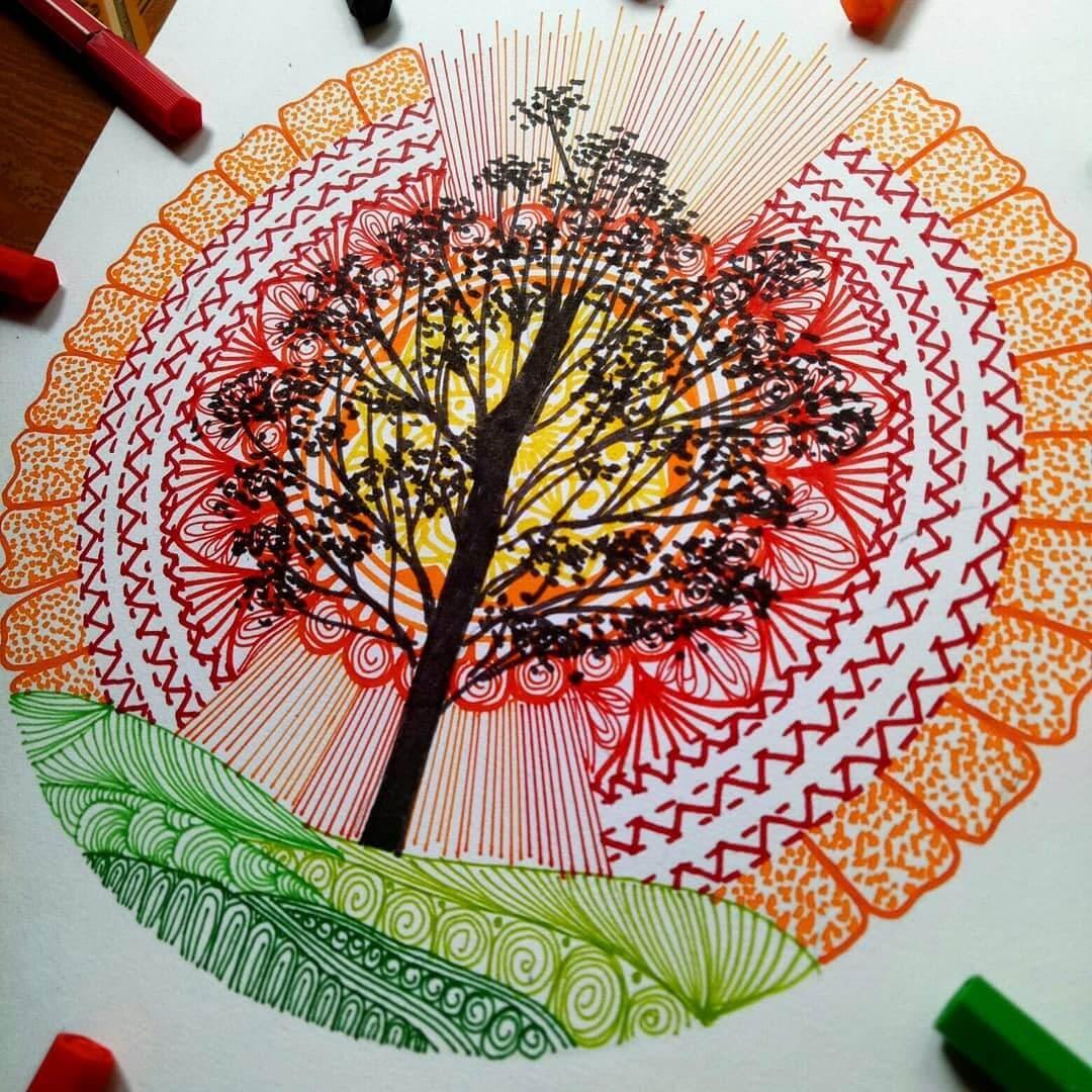 09-Tree-lady-meli-art-Precision-in-Geometric-Mandala-Drawings-www-designstack-co
