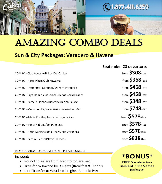 411 Travelbuys Blog: 411travelbuys.ca:Sun And City Combo