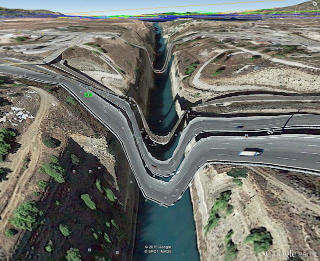 """Το Google Earth """"έλιωσε"""" τον Ισθμό της Κορίνθου…"""