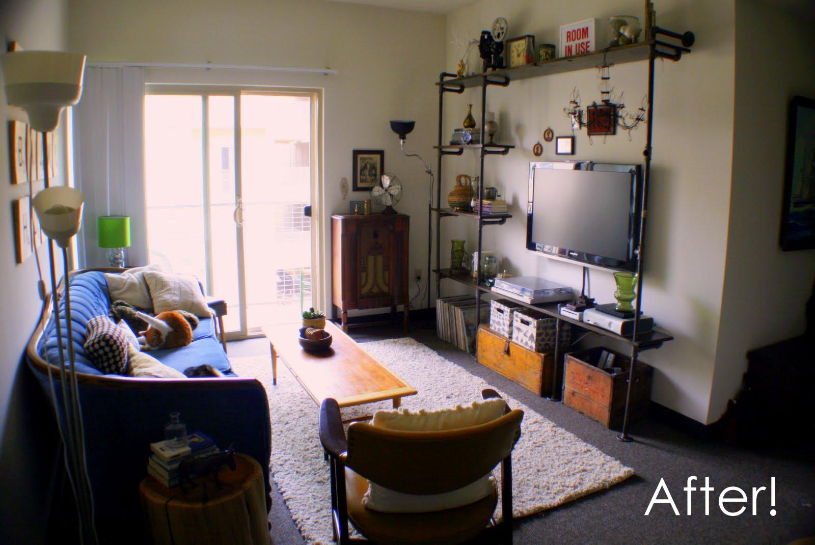 insideways white box challenge reveal living room. Black Bedroom Furniture Sets. Home Design Ideas