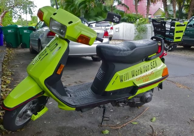 suggestive scooter