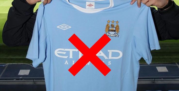 Manchester City To Replace Etihad Kit Sponsor Footy Headlines