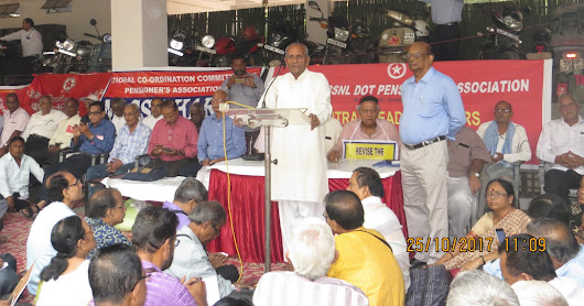 Successful Mobilization of Pensioners under the banner of NCCPA