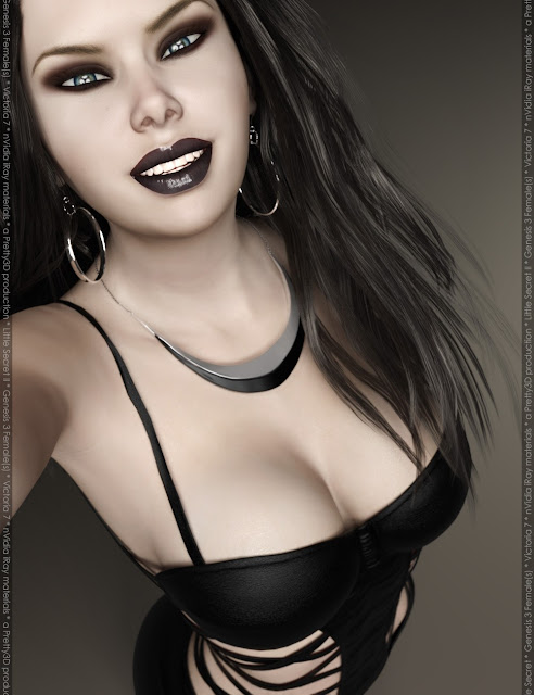 Little Secret II for Genesis 3 Female