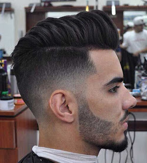 Trendy Mens Short Haircuts   Masculine Beard Styles