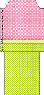 Green, Pink and Polka Dots: Free Party Printables for a Quinceañera Party