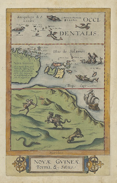 First Map Of Australia.Geogarage Blog Controversial 400 Year Old Australian Map Exhibited