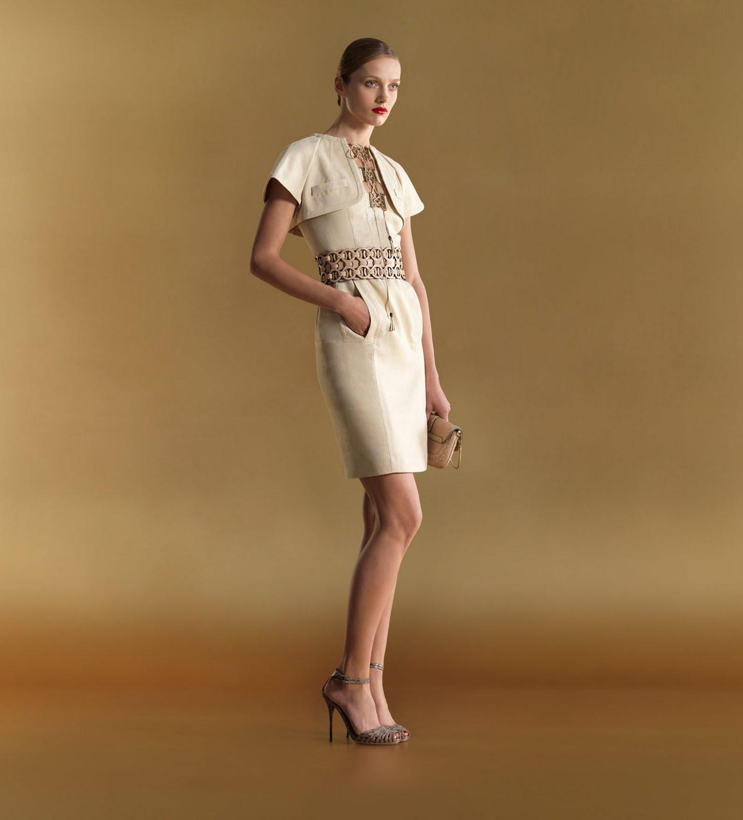 Fashion For Linda Gucci Seam Cape Dress