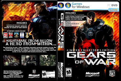 Gears Of War PC DVD Capa
