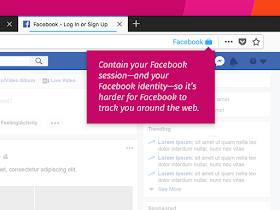 Facebook Container - مدونة أسد