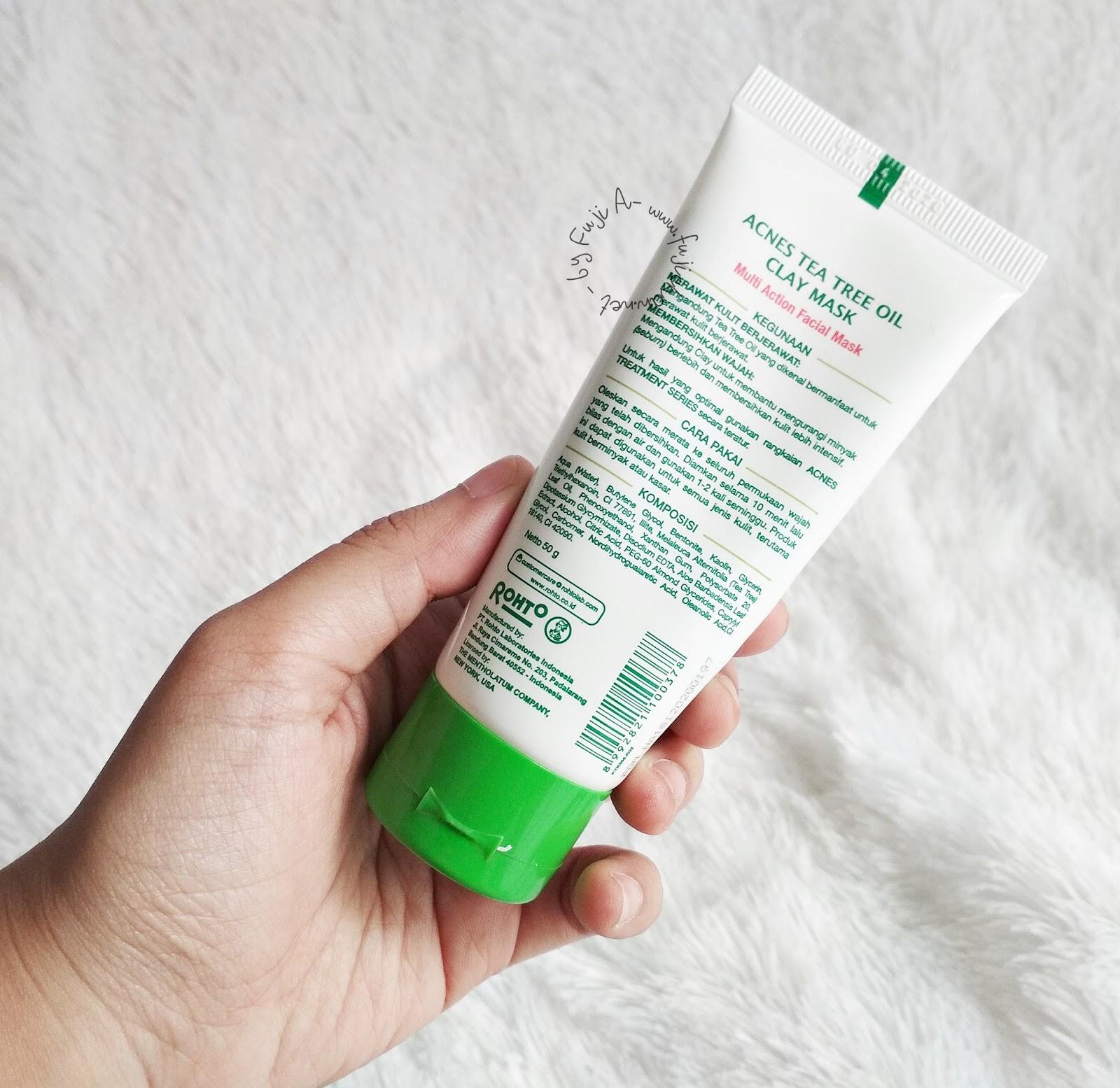 Acnes Tea Tree Oil Clay Mask 50gr Update Daftar Harga Terbaru Essential Minyak Sari Reo 08 Review