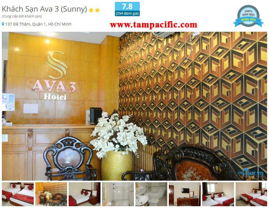 Khách Sạn Ava 3 Sunny