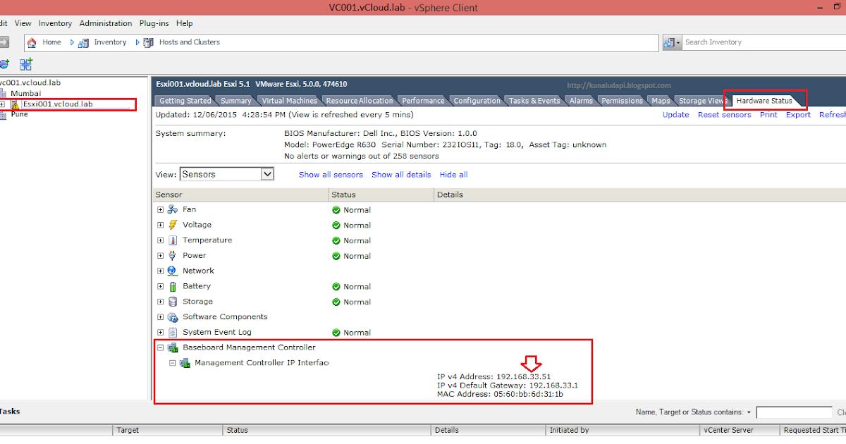 vGeek: Find iLo, Drac, IMM/RSA, CIMC IP and MacAddress on