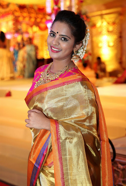 Manasa Himavarsha Photos at Hanisha Chalavadi Wedding