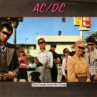 AC/DC Dirty Deeds Done Dirt Cheap 1981