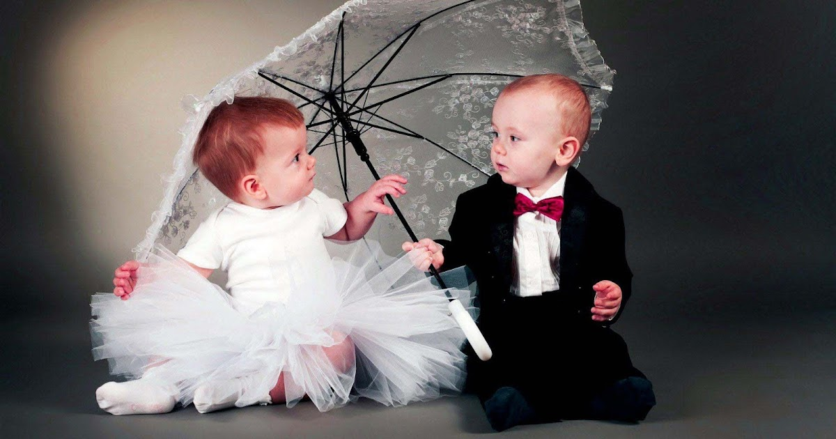 Baby Girl And Boy Love Wallpaper : IT New s : cute and Lovely Baby Pictures Free Download