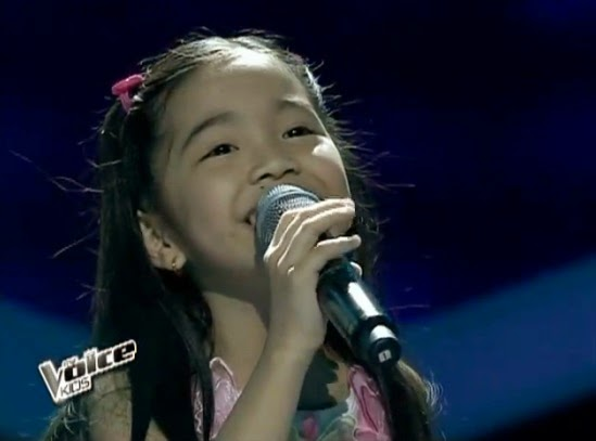 Darlene Vibares sings 'Louder' on 'The Voice Kids' PH Grand Finals Upbeat Song Round
