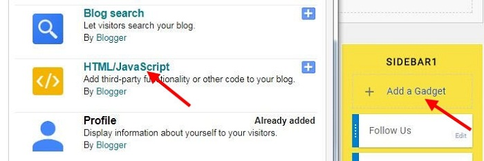 how to add facebbok like box on blogger blog