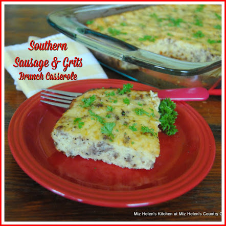 Southern Sausage and Grits Brunch Casserole