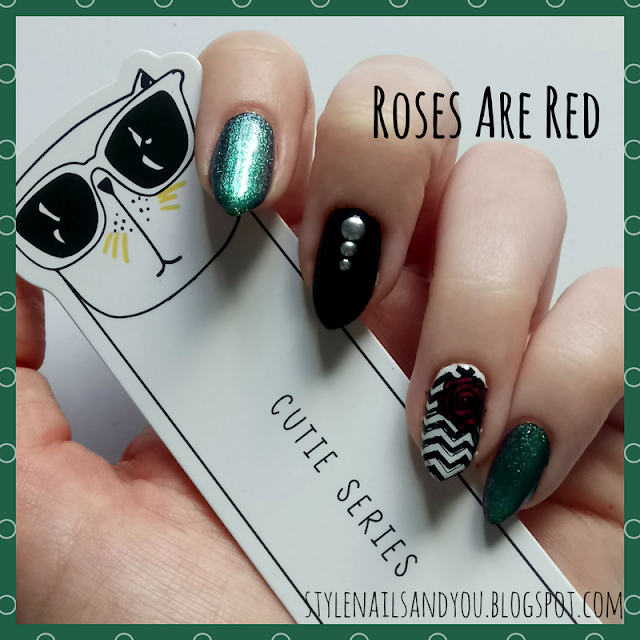 Roses Are Red | Born Pretty Liquid Tape & Peel Off Base Coat | Born Pretty Store Review