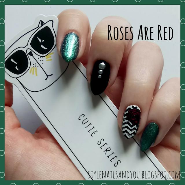 Roses Are Red   Born Pretty Liquid Tape & Peel Off Base Coat   Born Pretty Store Review