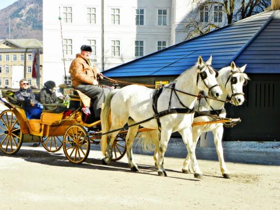Salzburgo-Áustria-Mozartplatz