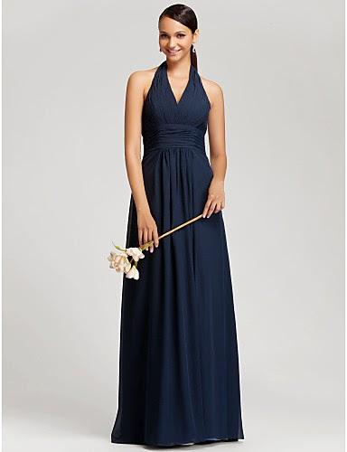 4a494ade9a Vestidos sencillos elegantes largos – Los vestidos de noche son ...