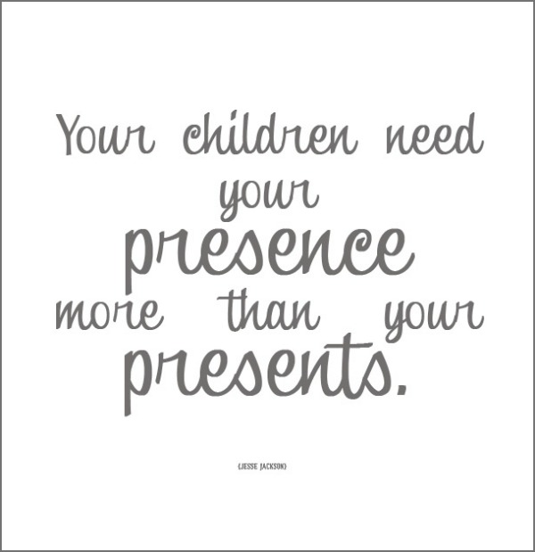 Quote presents presence children
