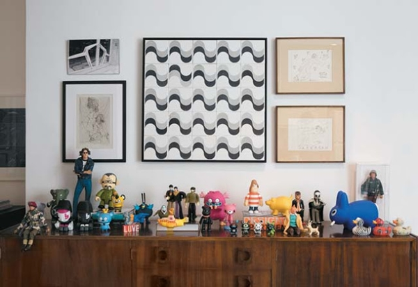 decoração com bonecos