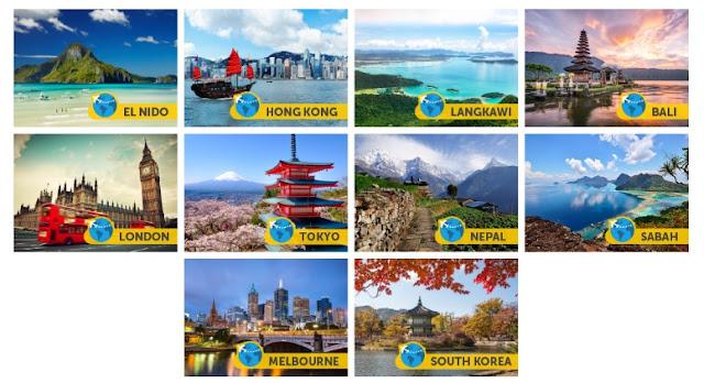 10 destinasi percutian menarik