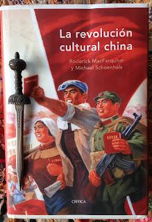 Portada del libro La revolución cultural china, de Roderick MacFarquhar y Michael Schoenhals