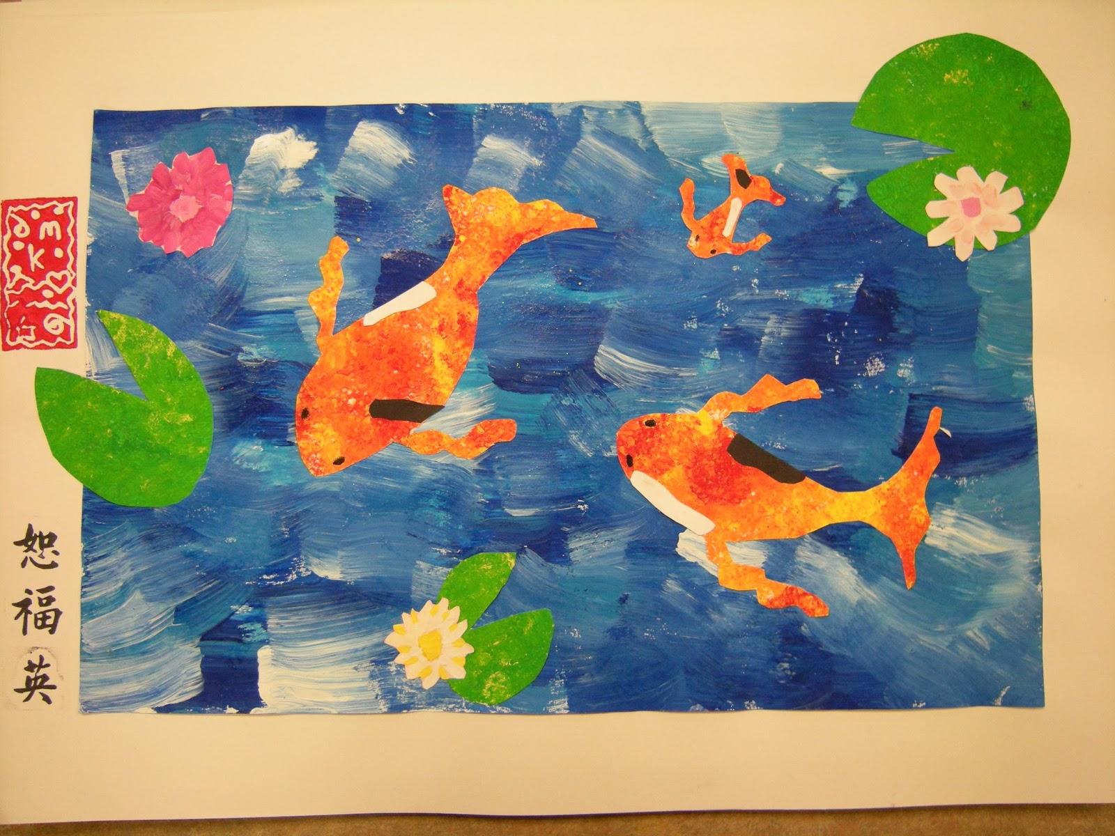 Artolazzi Koi Fish Collage