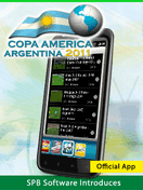 2011 Copa America on iOS, Android with Official SPB app