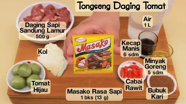 Resep Tongseng Daging Sapi Maknyus