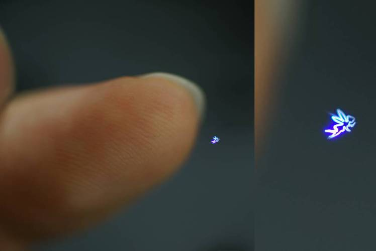New Holograms you can Actually Touch