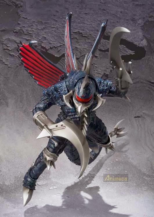 GIGAN 2004 S.H.MonsterArts FIGURE BANDAI