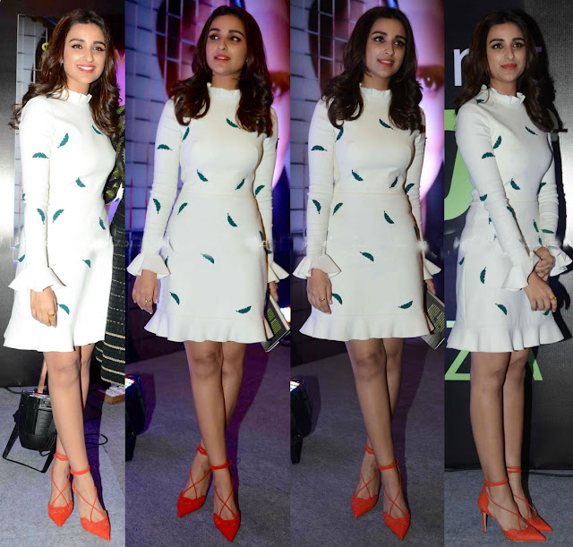 Parineeti Chopra in Western Dress @ Sanjanabatra Launching Sania's Book in Delhi