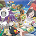 Pokémon Sun/Moon: criaturas exclusivas e Pokémon Refresh