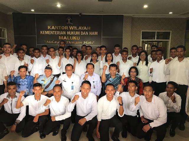 Bambang Rantam Sariwanto Ajak CPNS Ambon Berikan Kontribusi Pembangunan Kemenkumham