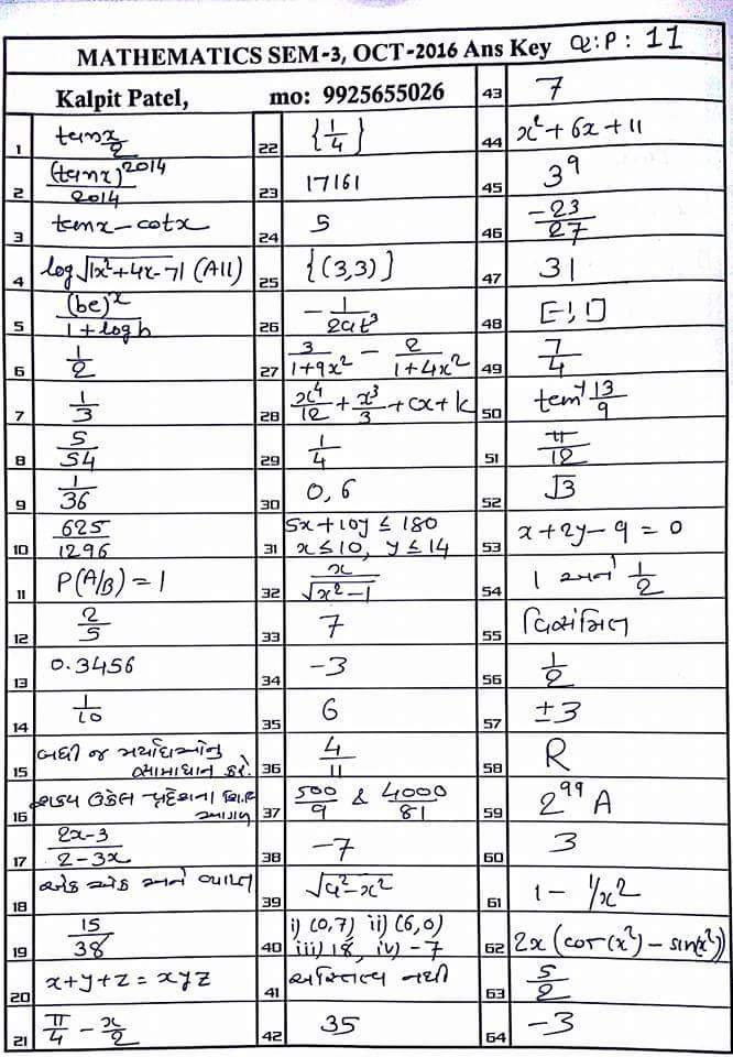 Gseb 12th semester 3 maths paper solution aapanu gujarat an click here to download paper solution malvernweather Choice Image