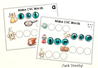 CVC Words, Light Table,